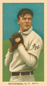 1909 T206 White Borders Christy Mathewson #307