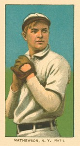 1909 T206 White Borders Christy Mathewson #309