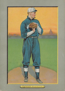 1910 Turkey Red Walter Johnson