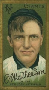 Christy Mathewson Cards and Autograph Guide 27