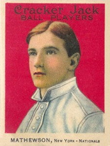 Christy Mathewson Cards and Autograph Guide 29