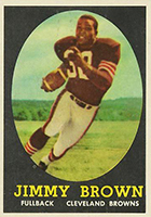 Jim Brown Football Cards, Rookie Cards and Autographed Memorabilia Guide