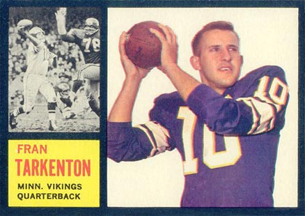Fran Tarkenton Cards, Rookie Card and Autographed Memorabilia Guide 1