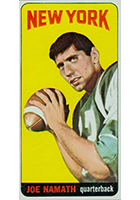 Joe Namath Cards, Rookie Cards and Autographed Memorabilia Guide