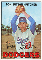 Don Sutton Baseball Cards and Autographed Memorabilia Guide