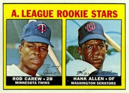1967 Topps Rod Carew RC