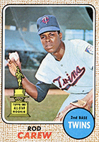 Rod Carew Cards, Rookie Cards and Autographed Memorabilia Guide