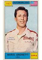 Mario Andretti Cards and Autographed Memorabilia Guide