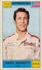 Mario Andretti Cards and Autographed Memorabilia Guide 1