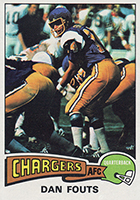 Dan Fouts Cards, Rookie Card and Autographed Memorabilia Guide