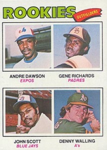 1977 Topps Andre Dawson RC
