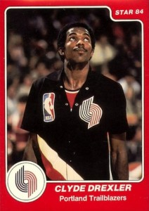 Clyde Drexler Cards and Memorabilia Guide 2