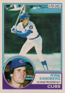 Ryne Sandberg Cards, Rookie Cards and Autographed Memorabilia Guide 3