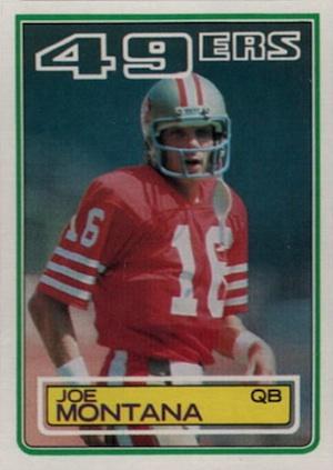 Top Joe Montana Cards to Collect 3