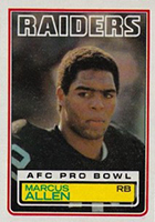 Marcus Allen Football Cards, Rookie Cards and Autographed Memorabilia Guide