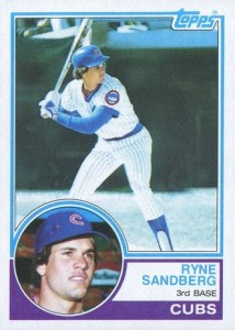 Ryne Sandberg Cards, Rookie Cards and Autographed Memorabilia Guide 4