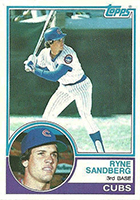 Ryne Sandberg Cards, Rookie Cards and Autographed Memorabilia Guide
