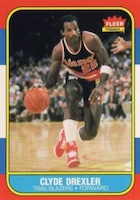 Clyde Drexler Rookie Cards and Memorabilia Guide