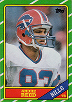 Andre Reed Cards, Rookie Card and Autographed Memorabilia Guide