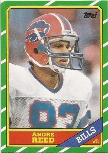 Andre Reed Cards, Rookie Card and Autographed Memorabilia Guide 1