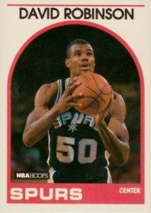 David Robinson Cards and Memorabilia Guide 2
