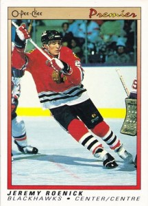 Jeremy Roenick Cards, Rookie Cards and Autograph Memorabilia Guide 2