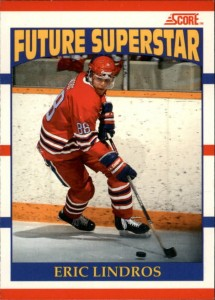1990-91 Score Canadian Eric Lindros RC #440