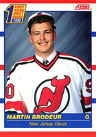 Martin Brodeur Cards, Rookie Cards and Autographed Memorabilia Guide
