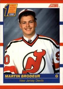 1990-91 Score Canadian Martin Brodeur RC #439