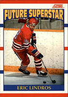 Eric Lindros Cards, Rookie Cards and Autographed Memorabilia Guide