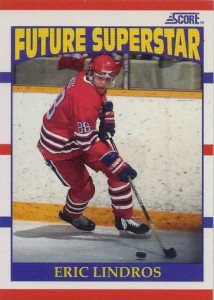 1990-91 Score Eric Lindros RC #440