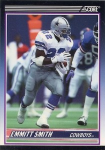 1990 Score Supplemental Emmitt Smith RC #101T