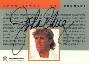 Top John Elway Cards for All Collecting Budgets 7