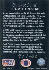 Top 10 Emmitt Smith Cards of All-Time 3
