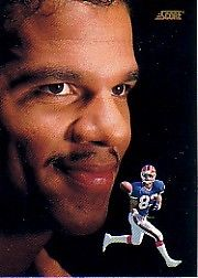 Andre Reed Cards, Rookie Card and Autographed Memorabilia Guide 20