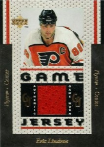 1996-97 Upper Deck Game Jersey Eric Lindros