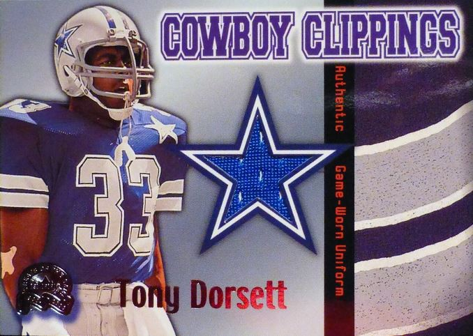 Tony Dorsett Cards, Rookie Card and Autographed Memorabilia Guide 21