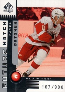 Pavel Datsyuk Cards, Rookie Cards and Autographed Memorabilia Guide 2
