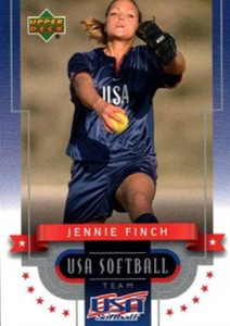 2002 Upper Deck USA Softball Jennie Finch