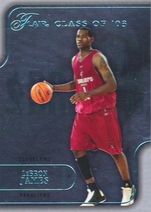 Don't Overlook These LeBron James Rookie Cards 1