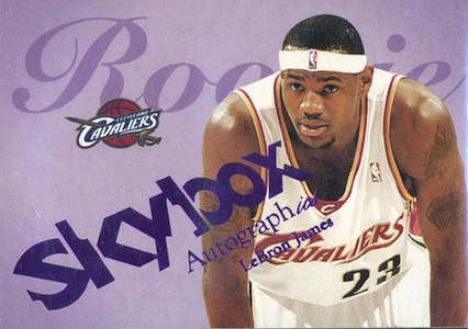 Don't Overlook These LeBron James Rookie Cards 11