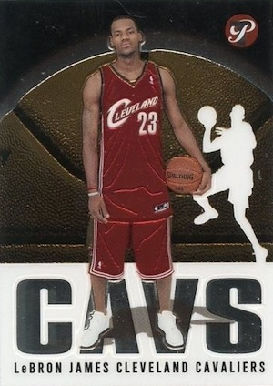 Don't Overlook These LeBron James Rookie Cards 10