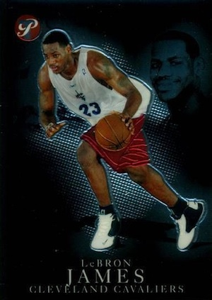 Don't Overlook These LeBron James Rookie Cards 12