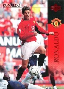 2003-04 Upper Deck Manchester United Cristiano Ronaldo #13