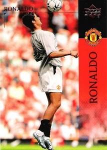 2003-04 Upper Deck Manchester United Cristiano Ronaldo #14