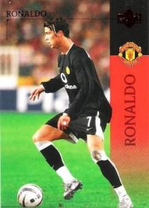2003-04 Upper Deck Manchester United Cristiano Ronaldo #15