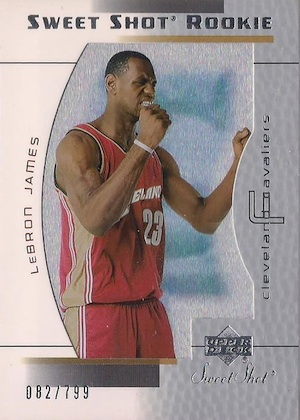 Don't Overlook These LeBron James Rookie Cards 16