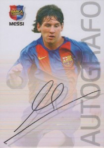 Lionel Messi Rookie Cards Checklist and Apparel Guide 8