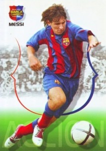 2004-05 Panini Mega Cracks Campio Campeon Lionel Messi #62