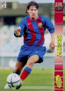 2004-05 Panini Mega Cracks Lionel Messi #71